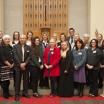 Canberra award recipients and donors