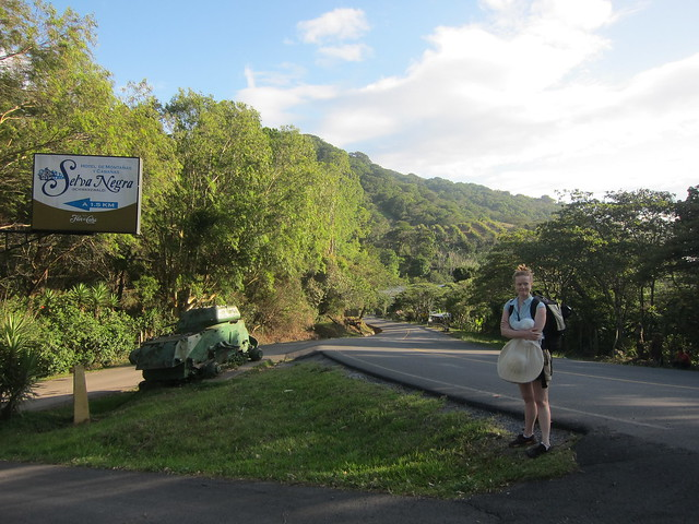 After Exiting the Bus from Matagalpa