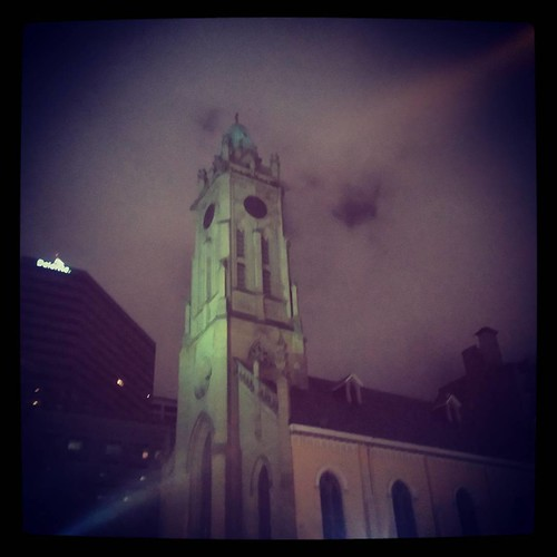 St. Xavier Church in downtown Cincinnati...
