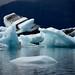 Blue ice @ Jökulsárlón Glacier Lagoon by Melinda ^..^