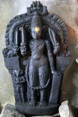 Veera badhrar with Shiva linga on the forehead