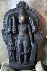 Veera badhrar with Shiva linga on the forehead