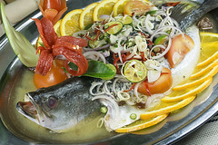 Sweet Sour Steamed Fish