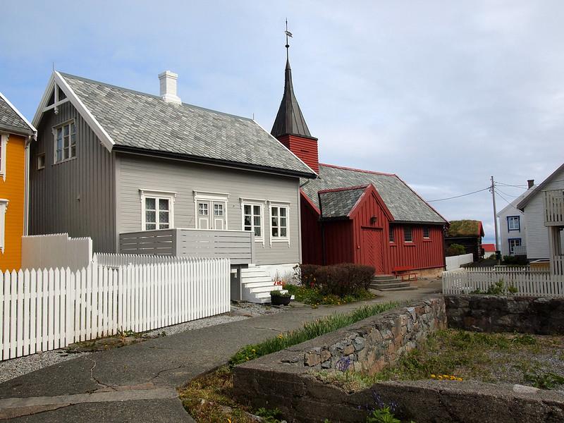 Stave church on Gripholmen