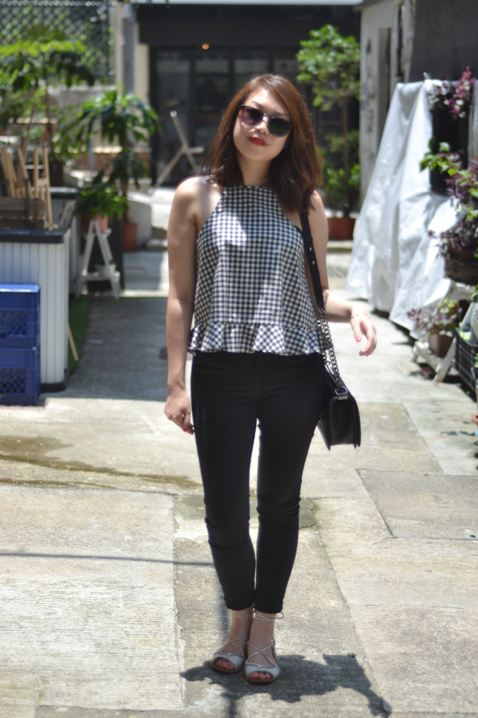 Daisybutter - Hong Kong Lifestyle and Fashion Blog: how to style gingham for the summer