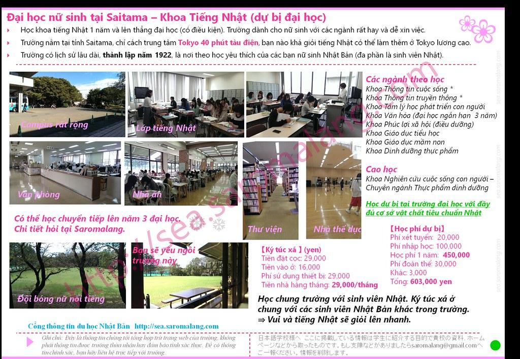 Đại học nữ sinh tại Saitama