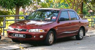 2001 Proton Wira 1.5 GLi 4-door sedan