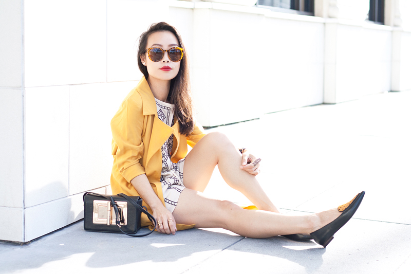 09-mustard-trench-romper-loafers-fashion-style-sf-sanfrancisco