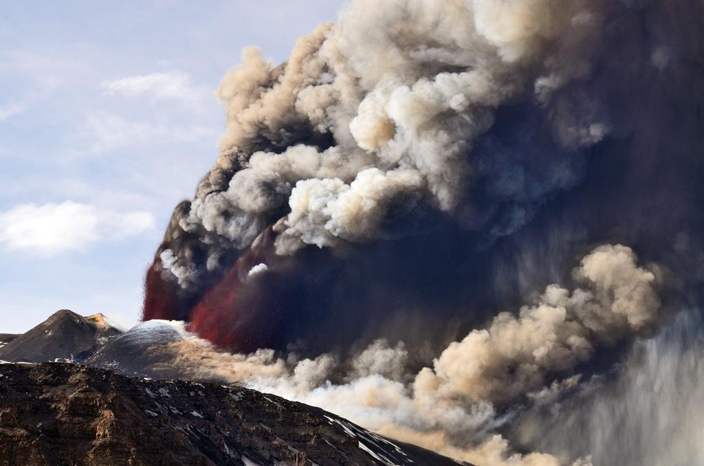 Etna Volcano rampage