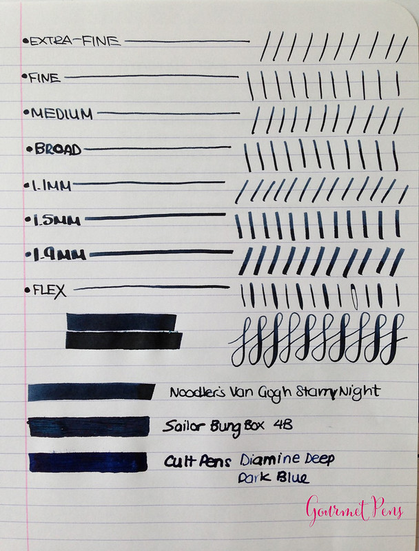 Ink Shot Review Noodler's Van Gogh Starry Night Ink Review @CarolLuxury (3)
