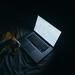 Gmail on Laptop in Dark