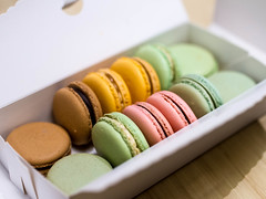 Macarons and Mint