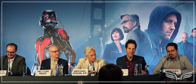 The Establishing Shot: PAUL RUDD TALKS GETTING INTO SHAPE FOR ANT-MAN @ THE ANT-MAN EUROPEAN PRESS CONFERENCE - CORINTHIA HOTEL LONDON