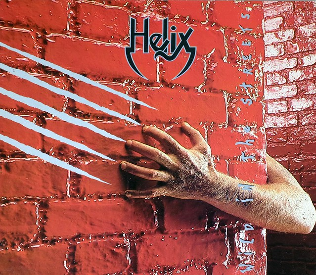 "HELIX WILD IN THE STREETS 12"" LP VINYL"