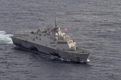 USS Fort Worth (LCS 3) file photo. (U.S. Navy/MC2 Joe Bishop)