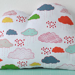Cloud shaped cushion