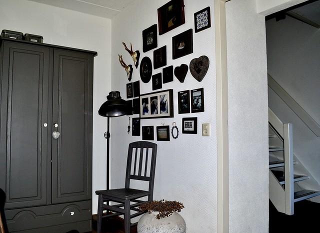 Decoratie muur landelijk