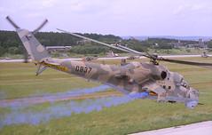 Mi-24V 0837, Ceske Budejovice, July 1994