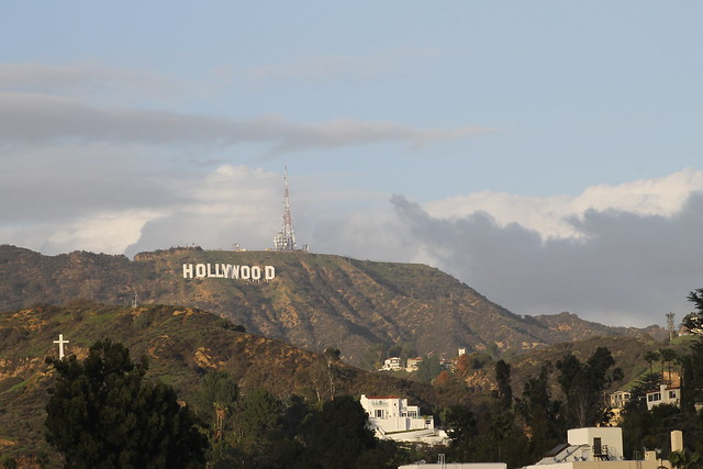 Hollywood Sign, Canon EOS REBEL T3, Canon EF 75-300mm f/4-5.6