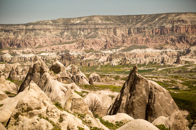 Hiking Love Valley and Rose/Red Valley in Cappadocia
