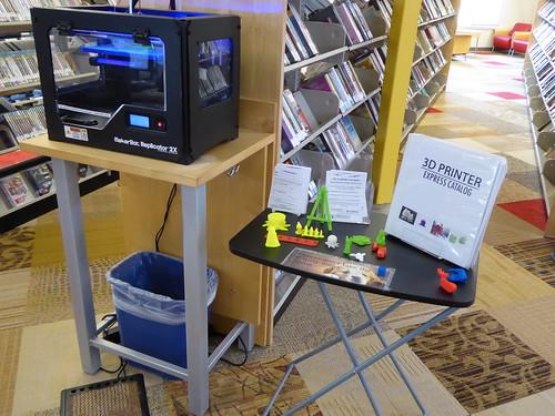 3D printer - Sheridan Library