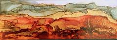 Ink Desert Landscape