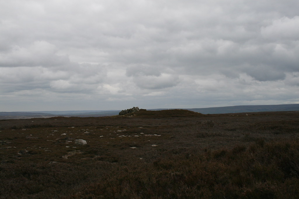 "Tumulus on Gisborough Moor (which may or may not be the ""summit"")"