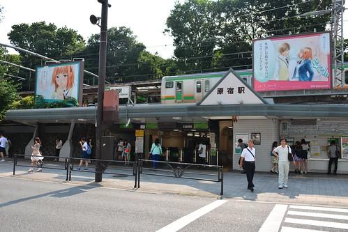 原宿駅:竹下口