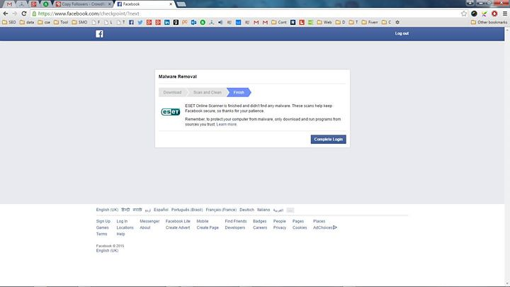 Facebook in the name of malware remover installing unwante… | Flickr