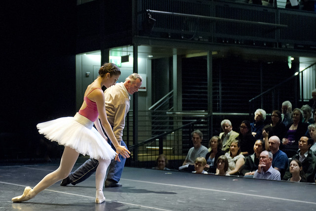 Royal Ballet in rehearsal © ROH 2012. Photograph by Sim Canetty-Clarke