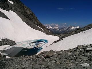 Der kleine Gletschersee