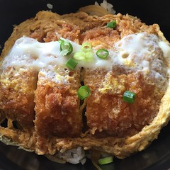 breakfast, fried food, katsudon, food, dish, cuisine,
