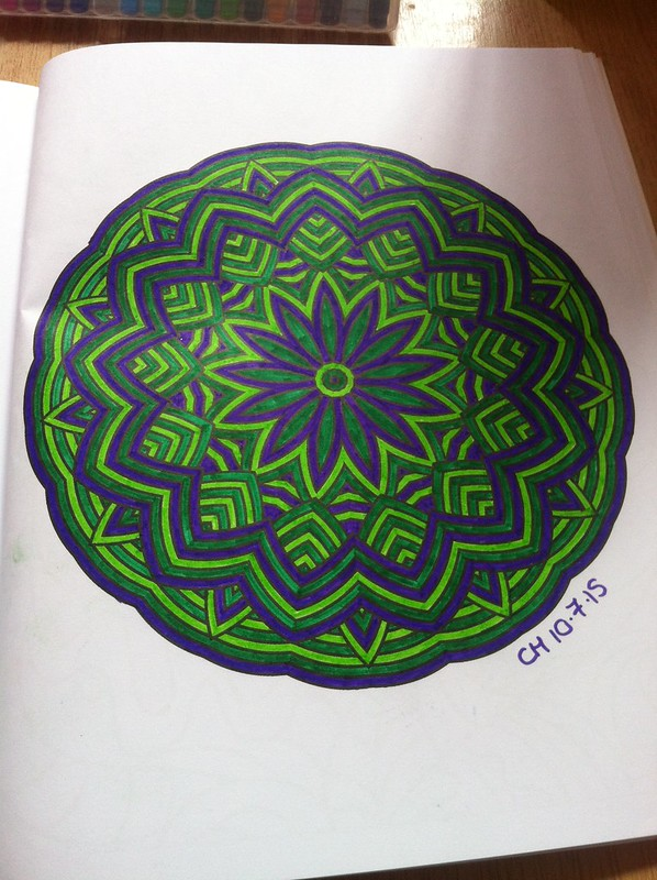 Meditation Colouring Book 4