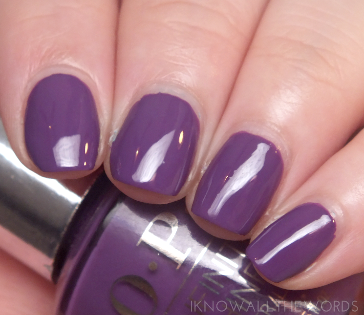 OPI infinite shine summer 2015 purpetual emotion