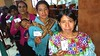 Quiché mothers from Huehuetenango queue up at the local bank to cash in their EU-funded vouchers distributed by the UN World Food Programme, before going to the local market to shop for fresh food.  Photo credit: EU/ECHO/H. Avril 2015