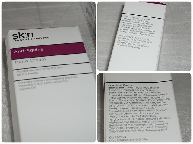 skn Anti-Ageing Hand Cream