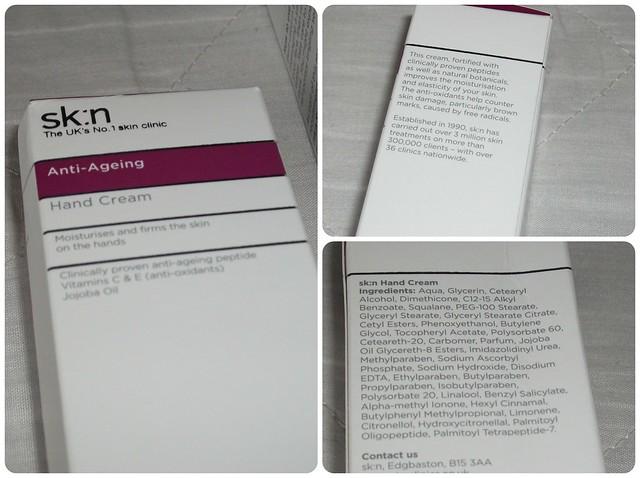 skn Anti-Ageing Hand Cream