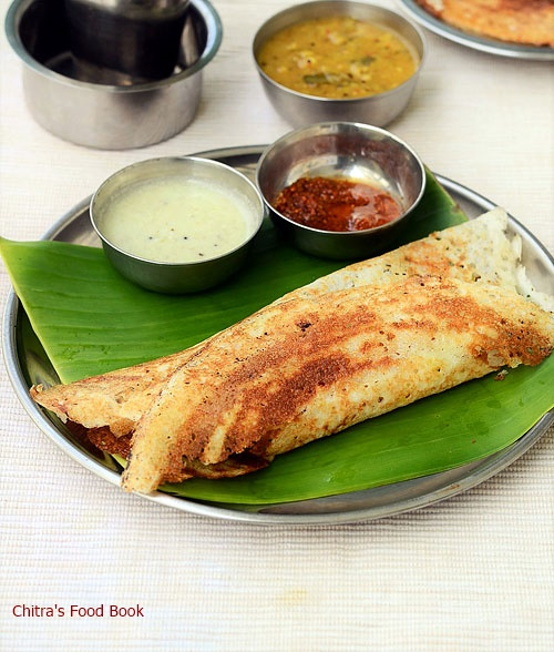 South Indian Masala Dosa Recipe - Tamil nadu Style Masala ...