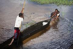 Fishermen, Limulunga, Barotseland, Zambia