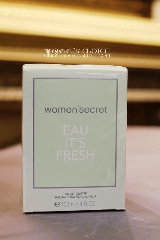 花漾清新女性淡香水外包裝