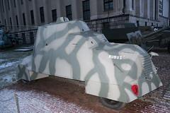 Kubus armoured insurgent vehicle
