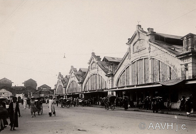 AP2142-Despierres - Hanoï, 1931 – Le Marché Central - Chợ Đồng Xuân