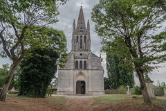 12-Eglise de Saint Aulaye - Photo of Saint-Quentin-de-Caplong