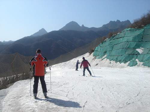 Beijing, China - Huaibei Ski Resort