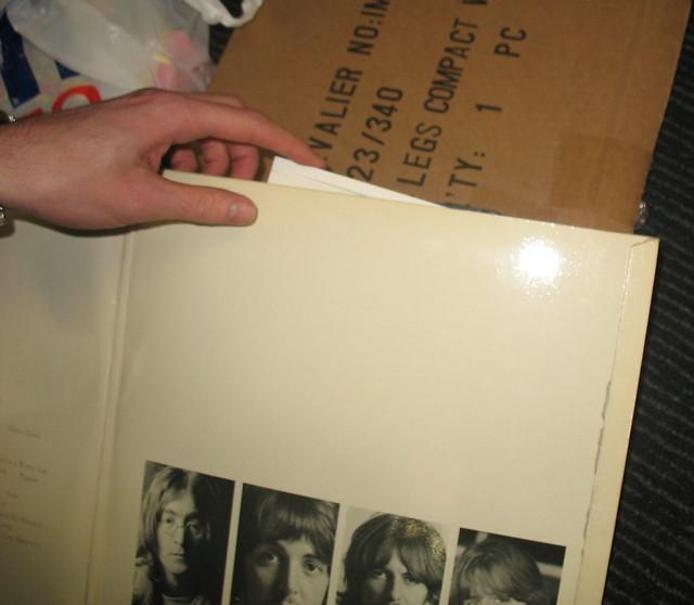 Beatles White Album First Pressing No 0000003 Gatefold