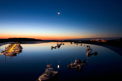 ocean summer night sunrise boats 4th july 3am 4thofjuly2005