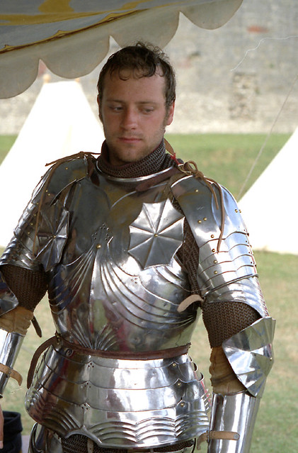 Moody Knight In Full Plate Harness Circa 1470 Flickr