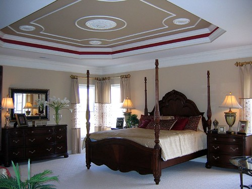 Master Bedroom Tray Ceiling A Photo On Flickriver