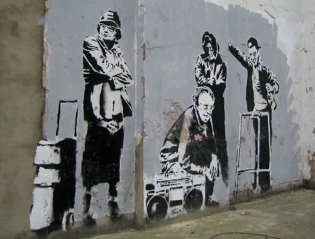 Banksy: Old Skool, Canon IXY DIGITAL 50
