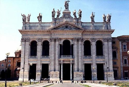 Facade of Basilica di San Giovanni in Laterano